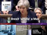 El Diario DN+: El Parlamento británico rechaza el Brexit