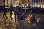 Cortes en Pamplona en las protestas contra el cierre de Maravillas