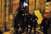 Okupan de nuevo Rozalejo tras la manifestación en apoyo al gaztetxe. CALLEJA