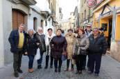 Fiestas de San Sebastián en Sangüesa: ambiente en la calle
