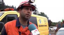 Los ocho mineros de la Brigada de Rescate de Julen