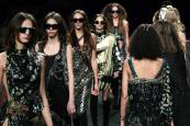 Desfile de Custo Barcelona en la Mercedes-Benz Fashion Week de Madrid