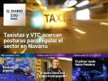 El Diario DN+: Taxistas y VTC acercan posturas en Navarra