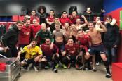 Celebraciones de las victorias de Osasuna