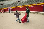 Visita a la plaza de toros de Pamplona