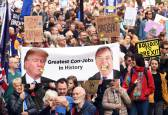 Masiva manifestación por un segundo referéndum del 'brexit'