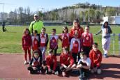 Trescientos jóvenes atletas se citan en Burlada