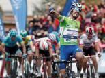 Llegada de la Vuelta al País Vasco a Gorraiz