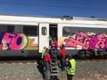 Tren averiado en Lodosa