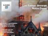 El Diario DN+: Un incendio destruye Notre Dame de París