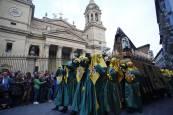 Fotos de la procesión del Santo Entierro de Pamplona 2019
