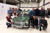 Restaurado el primer coche fabricado en Landaben