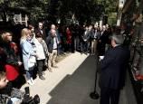 Homenaje al concejal de UPN asesinado por ETA, Tomás Caballero