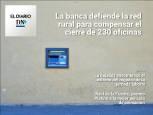 El Diario DN+: El cierre de sucursales bancarias rurales en Navarra