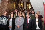 Recepción a los equipos del C.A. Osasuna en la Delegación del Gobierno en Navarra