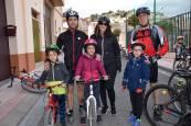 Las bicicletas se hacen con las calles de Ablitas