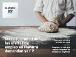 El Diario DN+: La demanda de FP en las ofertas de empleo en Navarra