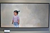 Retratos de la exposición 'El retrato. Exponente vital del arte de hoy'