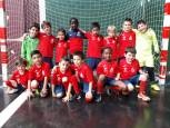 Fútbol y futbito en el C.D. Aoiz