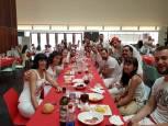 Fotos de los almuerzos antes del Chupinazo