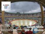 El Diario DN+: La lluvia obliga a suspender la segunda corrida de San Fermín