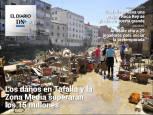 El Diario DN+: los daños de la riada.