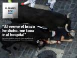 El Diario DN+: Entrevista al corneado en el encierro