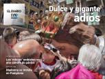 El Diario DN+: La Comparsa de Pamplona se despide con homenaje a La Pamplonesa