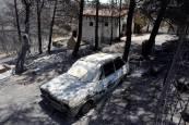 Incendio en Beneixama (Alicante)