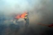 Incendios en el centro de Portugal