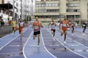 Campeonato de España de Federaciones de Atletismo disputado en las pistas de Larrabide de Pamplona