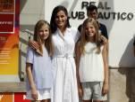 Los Reyes y sus hijas asisten a la 38ª Copa del Rey Mapfre en Palma de Mallorca