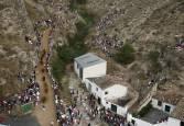 Fotos del primer encierro del Pilón de Falces 2019