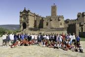 Tradicional visita de Osasuna a Javier