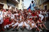 Fotos del chupinazo de fiestas de Caparroso 2019