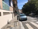 Fotos de los lectores de pasos de cebra de Pamplona que incumplen la ordenanza