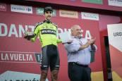 La Vuelta a España a su paso por Navarra