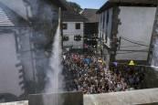Fotos del cohete de fiestas de Ochagavía 2019