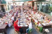 Comida popular 'baby boomers' en fiestas de Corella