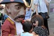 Salida de la Comparsa de Gigantes y Cabezudos en San Fermín Txikito | 28 de septiembre