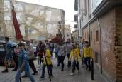 Fotos de la procesión de los Muros de Tafalla 2019