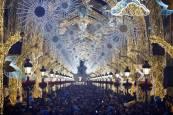 Iluminación navideña de Málaga