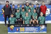 Fotos de las plantillas del Interescolar Osasuna 2019-20