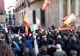 Incidentes en Pamplona en la concentración de 'España Existe'