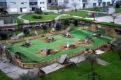 Se hunde un aparcamiento subterráneo de Santander