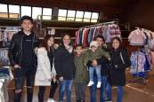 Fotos de un día de compras en la feria de oportunidades de Ribaforada