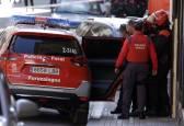 Fotos de la operación antidroga de la Policía Foral en La Milagrosa