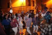 Desfile de zipoteros del carnaval de Tudela