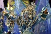 Fotos de los desfiles de las escuelas de samba en Río de Janeiro