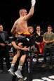 Fotos de la velada de boxeo en el Navarra Arena